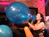 blow to pop balloons on webcam