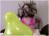 Balloon fetish custom video