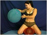 bounce on balloons