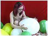 men and balloons