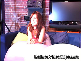 Really. Free balloon teen video