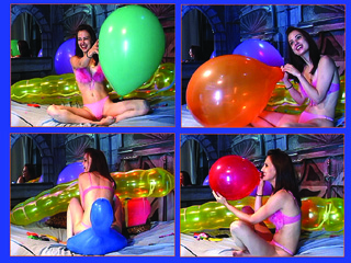Live balloon webcam show