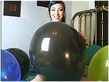 Video clip for sale of Eira inflating 17-inch balloons