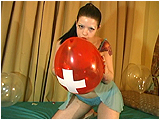 Video clip for sale of Victoria nail popping balloons