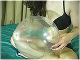 Video clip for sale of Andi nail-popping balloons