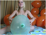 Video clip for sale of Miel nail-popping your balloons