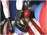 foot pump balloons