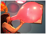 Video clip for sale of Atish inflating balloons