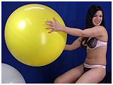 nail popping balloons