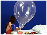 Atish inflates and pops with helium