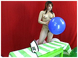 Adele irons some balloons