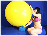 Video clip for sale of Lydiah inflating with a Zibi