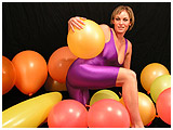 vintage pics of balloon model maya