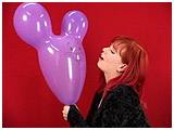 blow mouse eared balloons