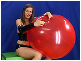 Video clip of Ruby nal-popping big balloons