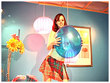 Video clip for sale of Atish having her way with lots of balloons