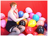Video clip for sale of Redd pin-popping small balloons