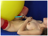 Ruby's balloon & vibrator