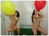 blow to pop balloons