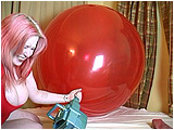 Video clip for sale of Xev blowing to pop with her pump