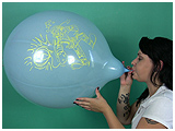 blow to pop punchball balloons