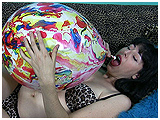 blow to pop thick agate balloon