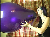 blow to pop big balloon