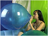 Video clip for sale of Eira pushing a Kaboom balloon past its limits