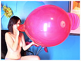 Video clip for sale of Marcy's first blow to burst scene