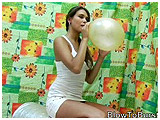 blow to pop small balloons