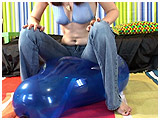 Video clip for sale of Atish balloon-bouncing in jeans