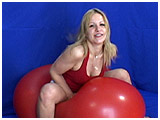 Video clip for sale of Krystal bouncing hard on a big Tilco