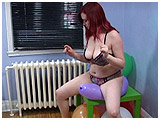 balloon riding and bouncing