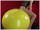 balloon riding and bouncing