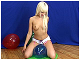 Video clip for sale of Scarlette bouncing her ass on crystal balloons