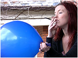 smoke cigarette balloon