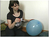 smoke cigarette pop balloon