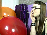 cigarette smoking and balloons