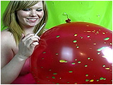 smoke cigarette balloon