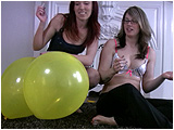 Video clip for sale of Holly popping Raven's balloons with a cigarette