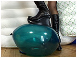 Video clip for sale of Alice foot-popping in tall black boots
