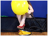 Video clip for sale of Kate pump-inflating a Tilco balloon