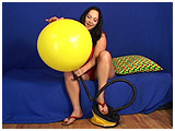 Video clip for sale of Kedra foot-pumping in sandals