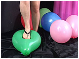 foot pop balloons