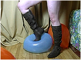 Video clip for sale of Xev foot-popping in boots