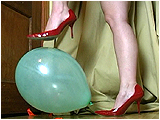 Video clip for sale of Miel foot-popping in heels
