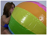 big beach ball