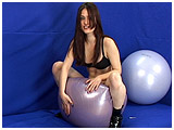 deflating exercise balls