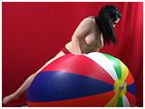 giant inflatable beachball