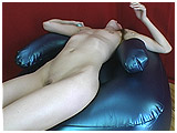 Ava gets horny and wild on a new inflatable chair